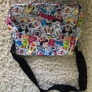 Disney nerds messenger bag